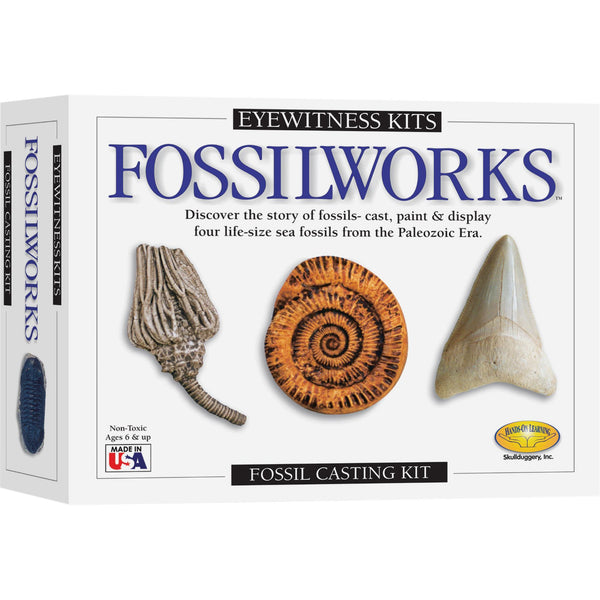 Eyewitness Fossilworks Casting Kit