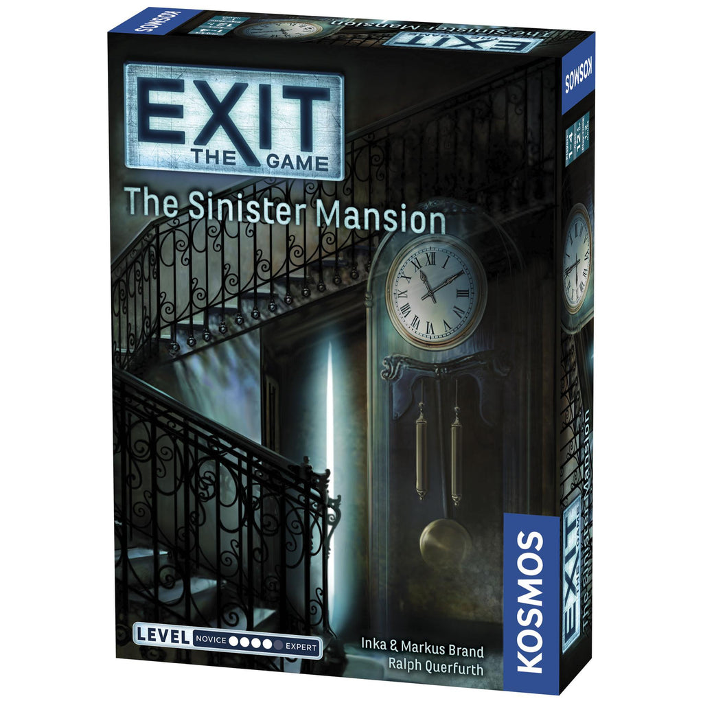 Exit: The Sinister Mansion Game