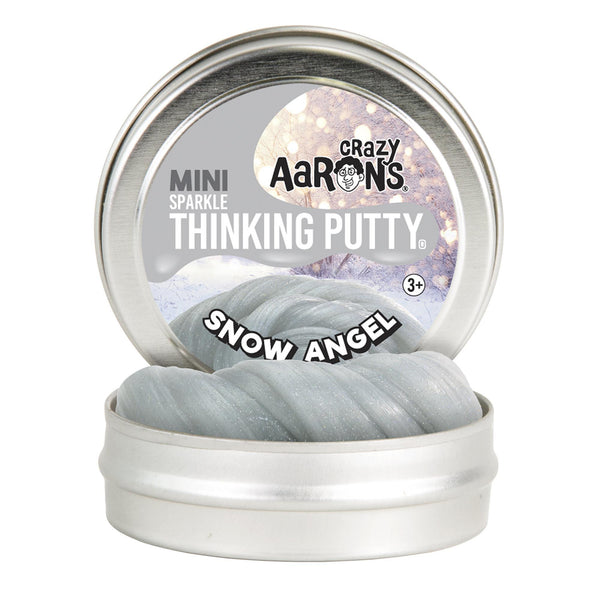 Crazy Aaron's Thinking Putty® Snow Angel Putty Mini Tin