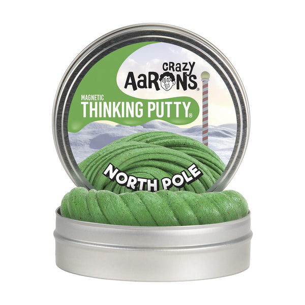 Crazy Aaron's® Thinking Putty North Pole Magnetic Putty Tin