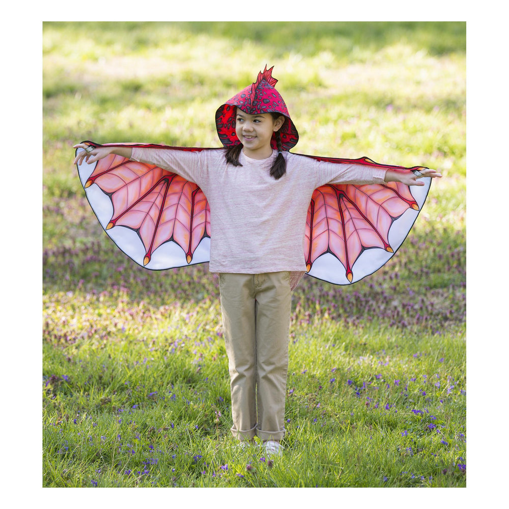 Red Hooded Dragon Wings
