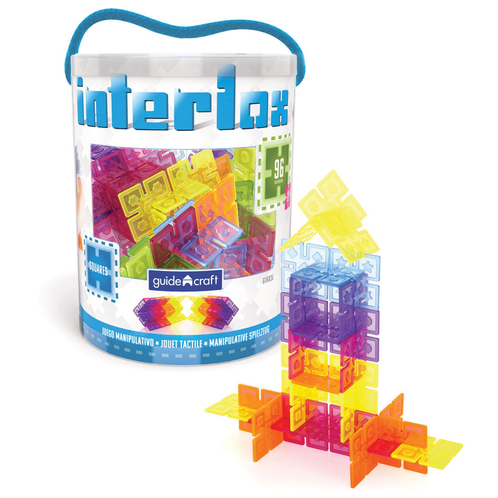 Interlox Squares 96 Pieces