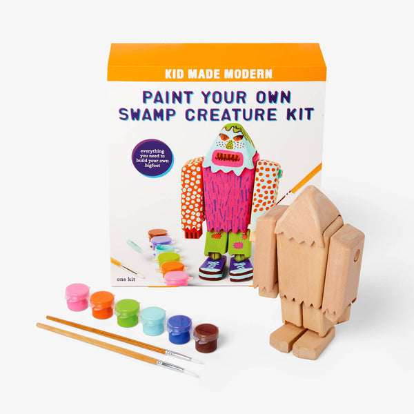 Kid Made Modern™ Paint Your Own Swamp Creature Kit