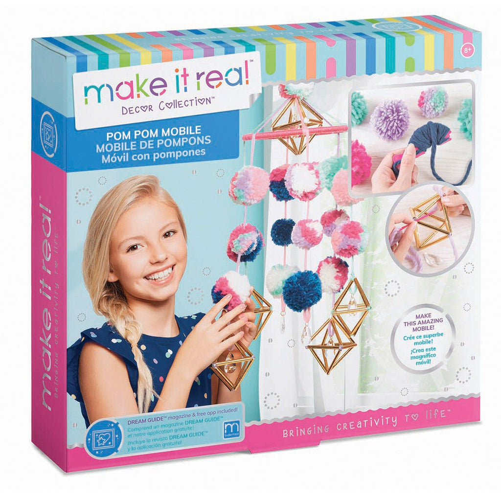 Make It Real™ Pom Pom Mobile Kit