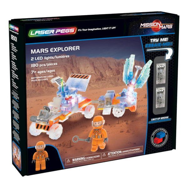 Laser Pegs® Mars Explorer Set
