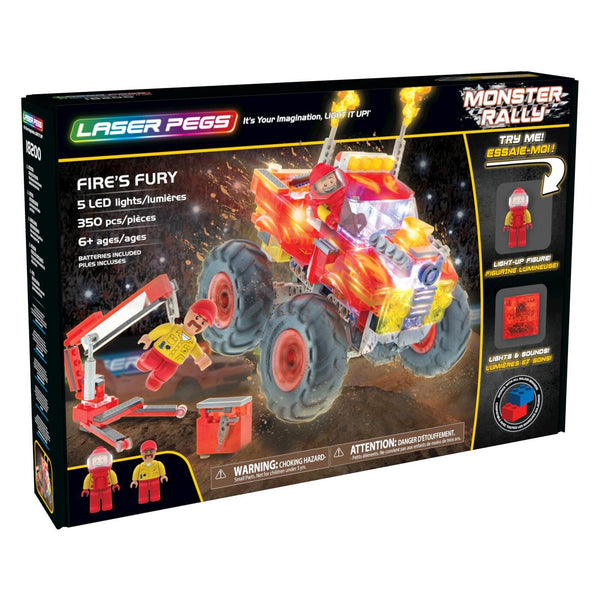 Laser Pegs® Fire's Fury Set