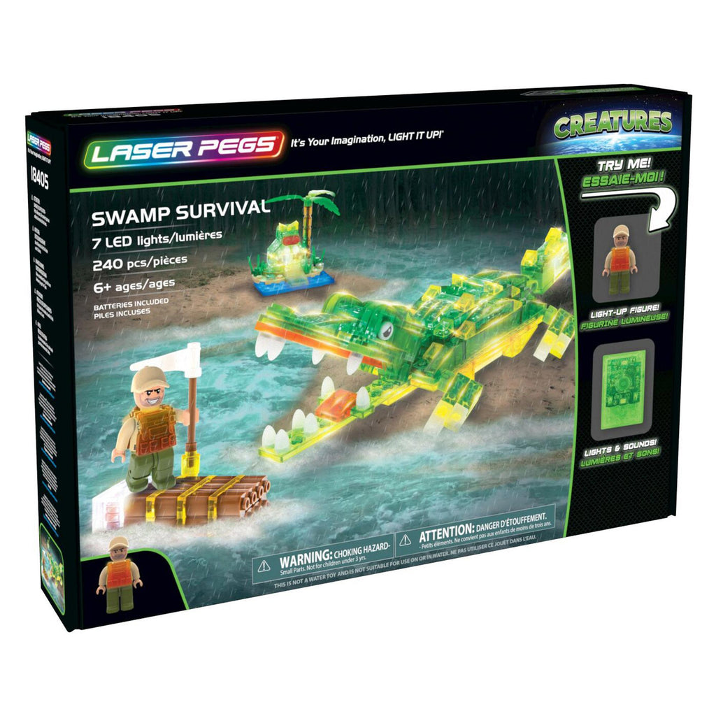 Laser Pegs® Swamp Survival Set