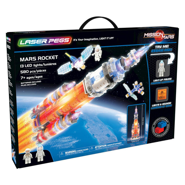 Laser Pegs® Mars Rocket Set