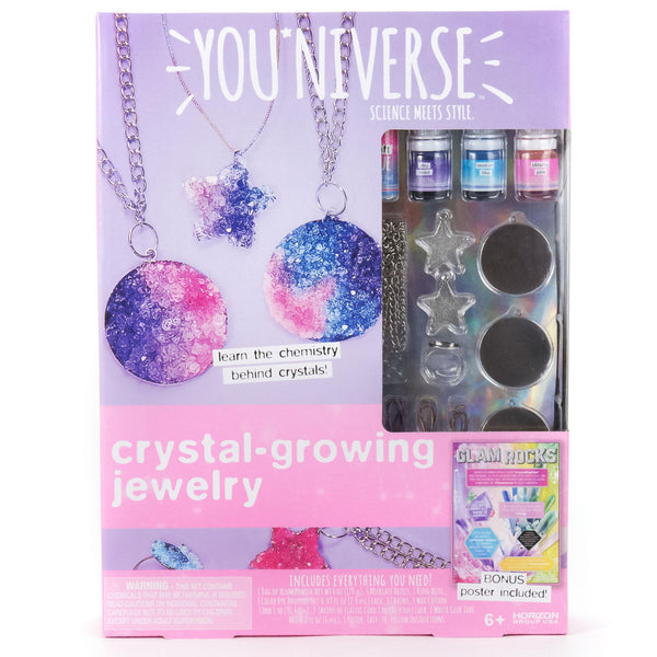 Crystal Growing Jewelry Kit