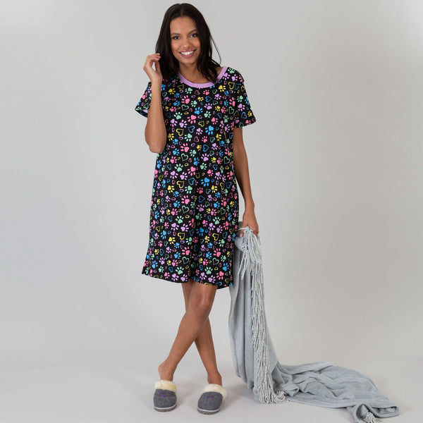 Paws & Hearts Aplenty Nightgown