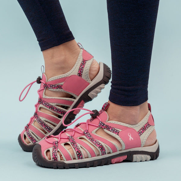 Path To Pink™ Floral Sport Sandals
