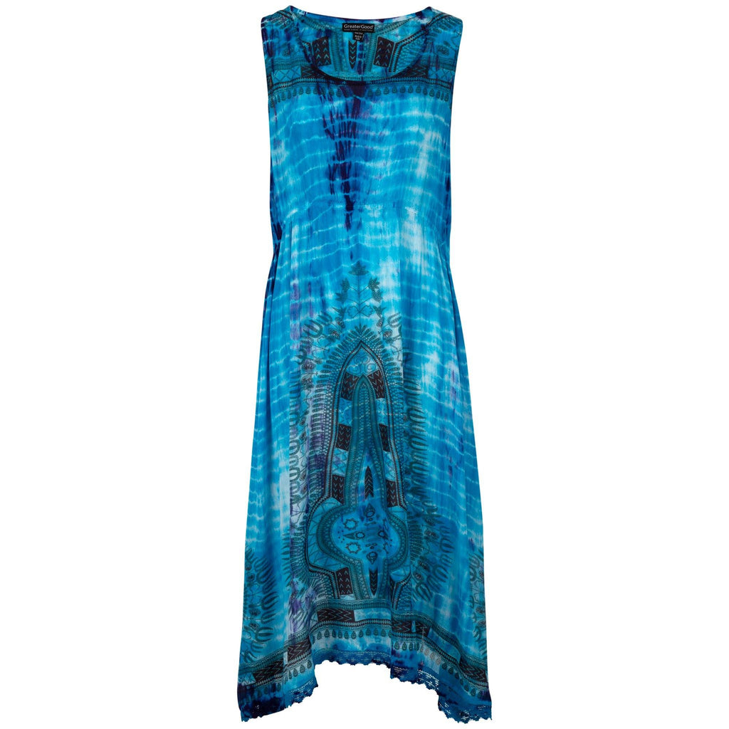 Tie-Dye Spirit Sleeveless Dress