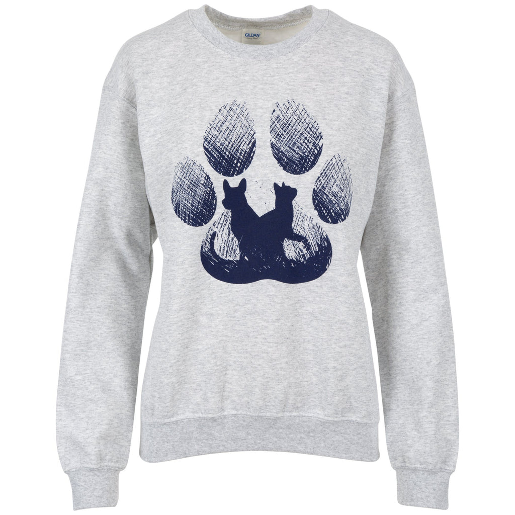 Twilight Paw Print Sweatshirt