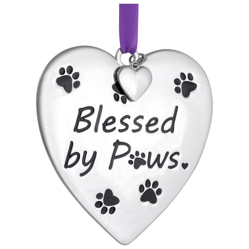 Blessed By Paws Ornament