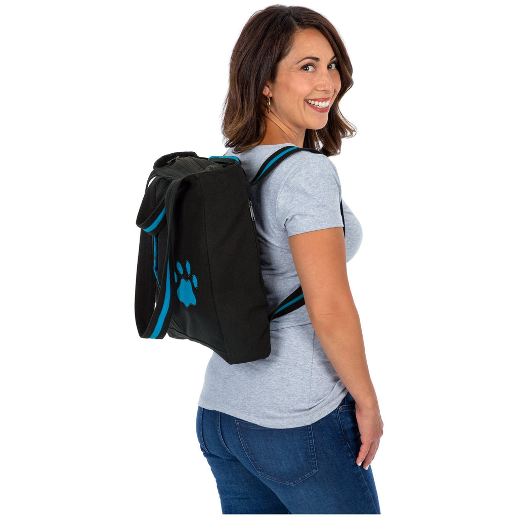 Peek-a-Paw Convertible Tote Backpack