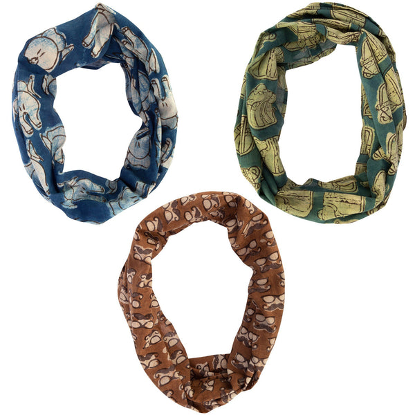 Wonderful Whimsy Infinity Scarf