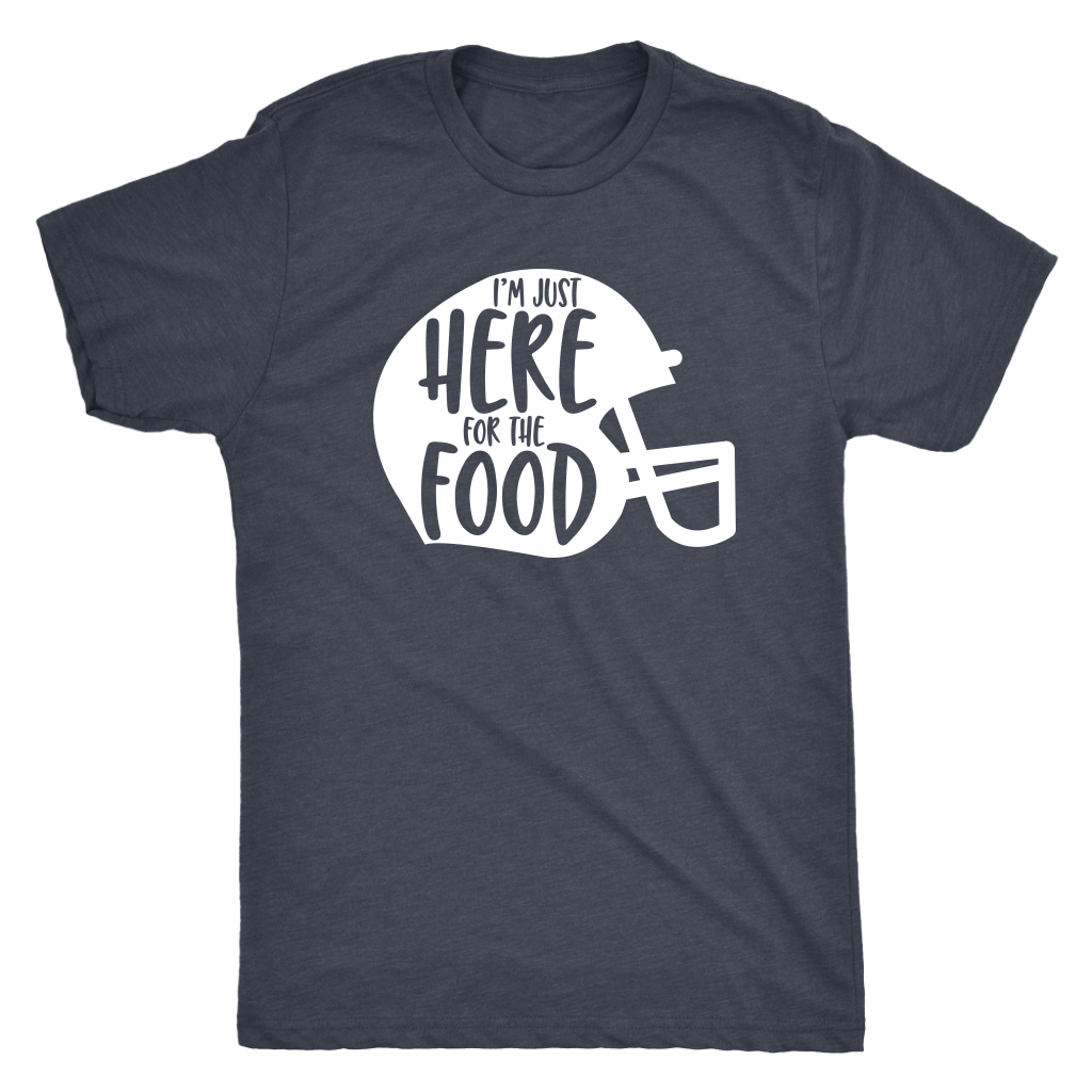 T-shirt - Here For The Food Men's T-Shirt