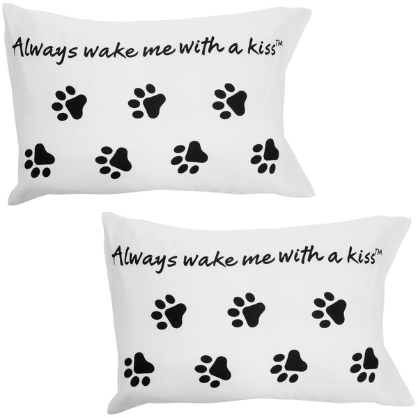 Always Wake Me With A Kiss™ Pillow Case Set