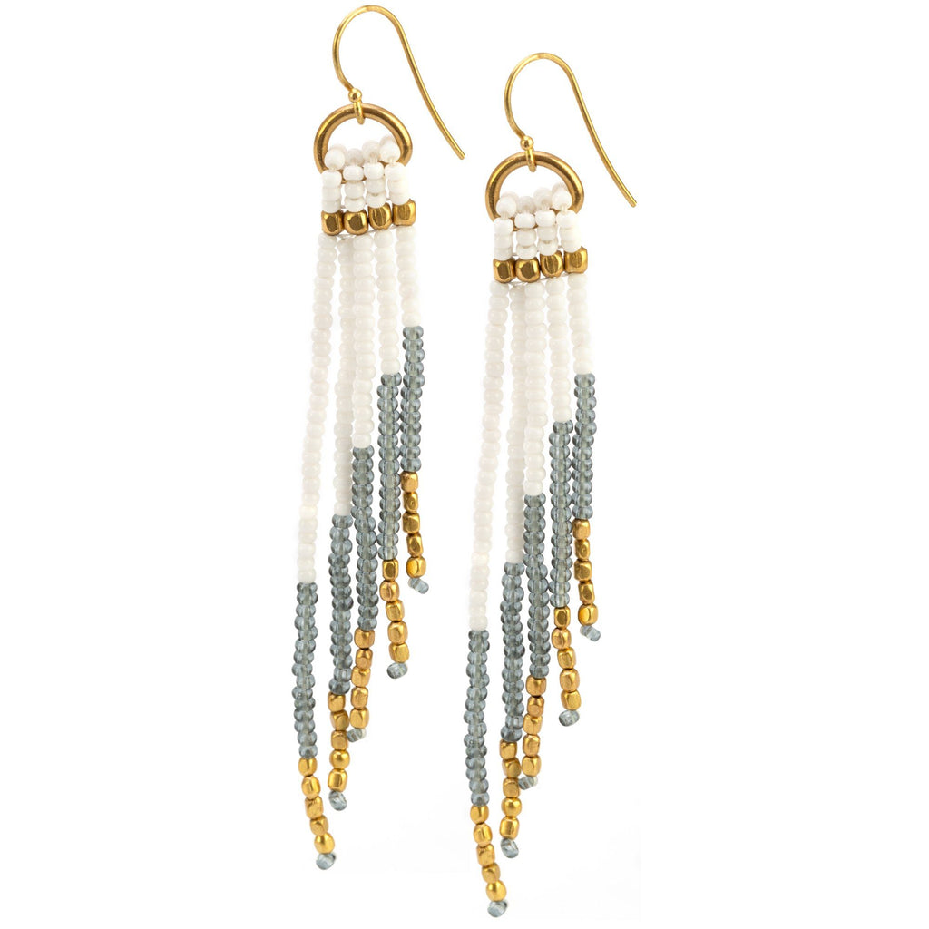 Cascade Beaded Earrings