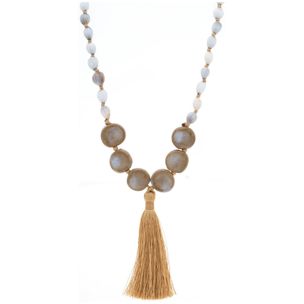 Alegria Tassel Necklace