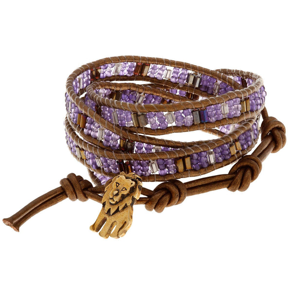 Cecil The Lion Wrap Bracelet