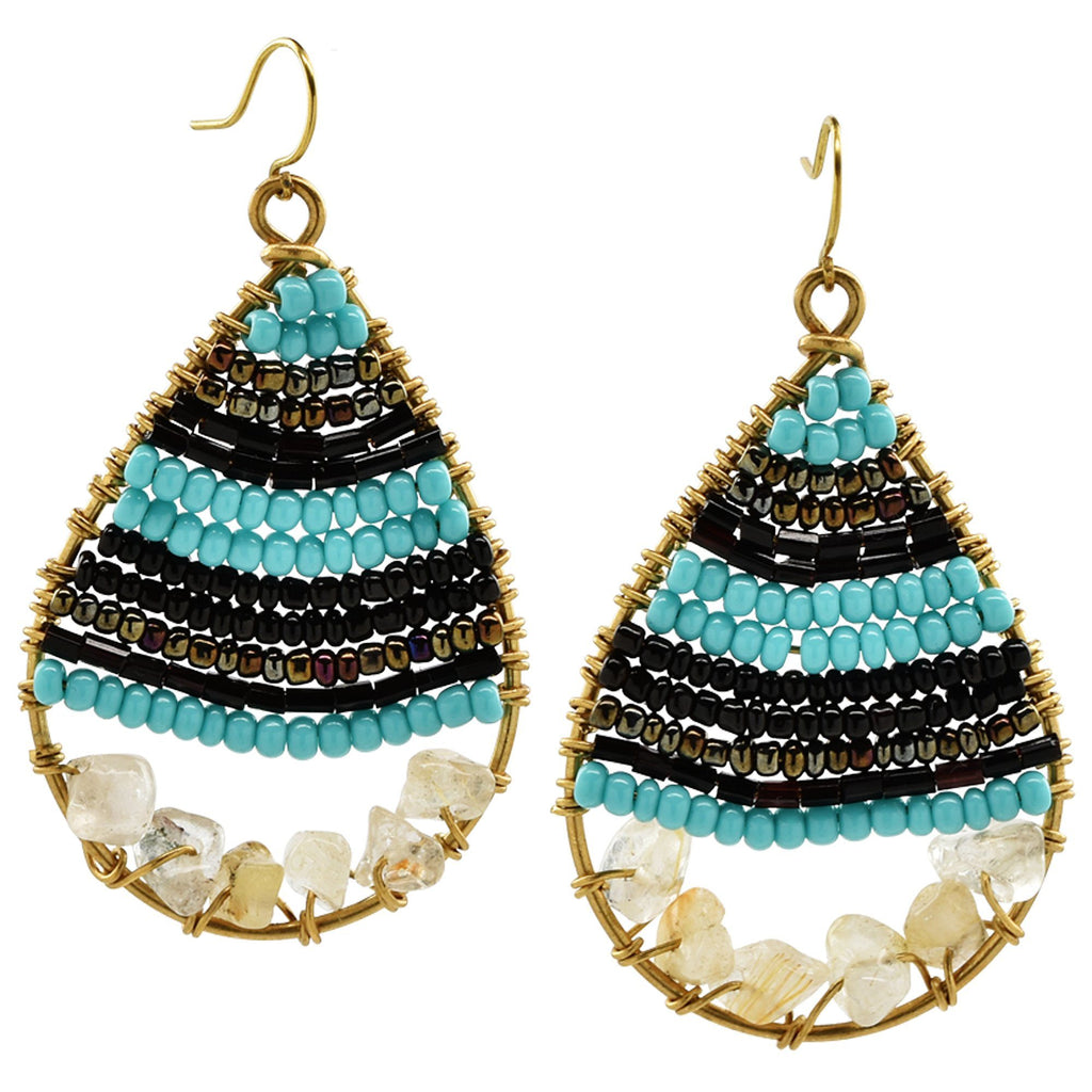 Ndoto Teardrop Earrings