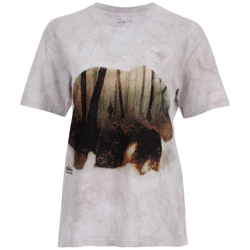 Forest Bear Tie-Dyed T-Shirt