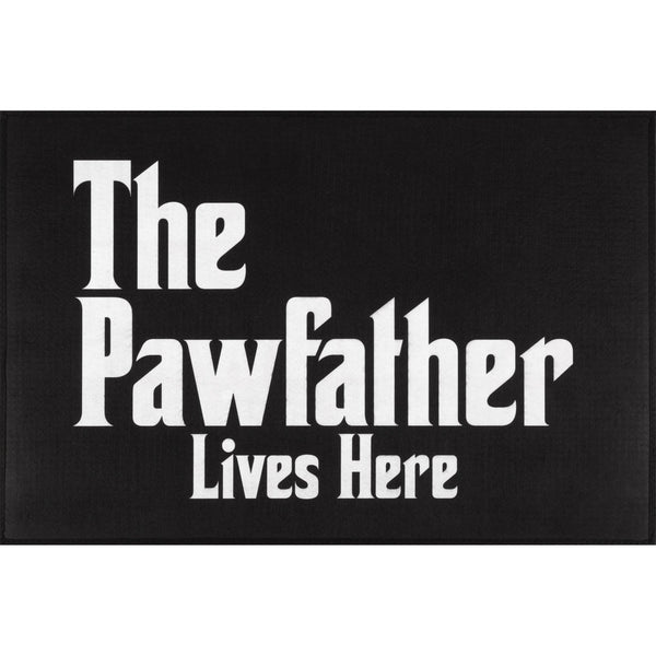 The Pawfather Door Mat