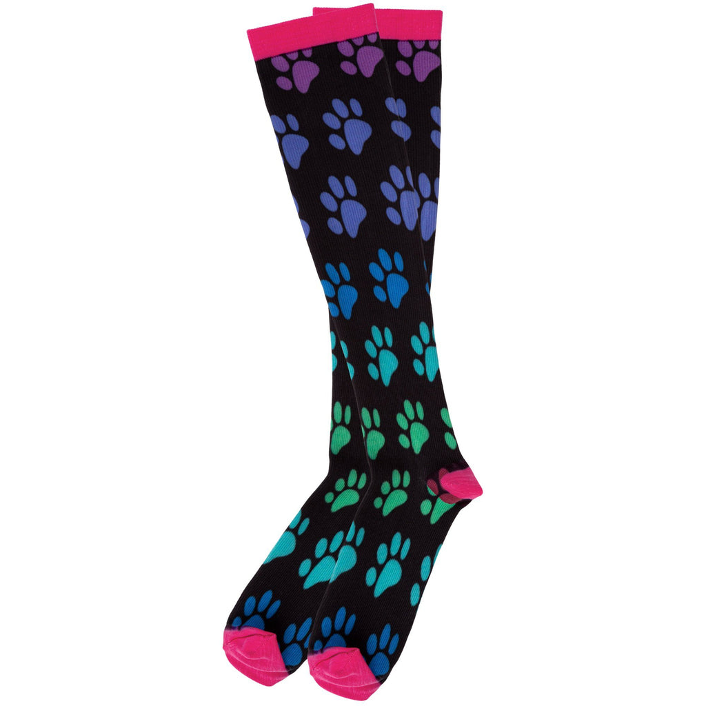 Colorful Paws Compression Socks