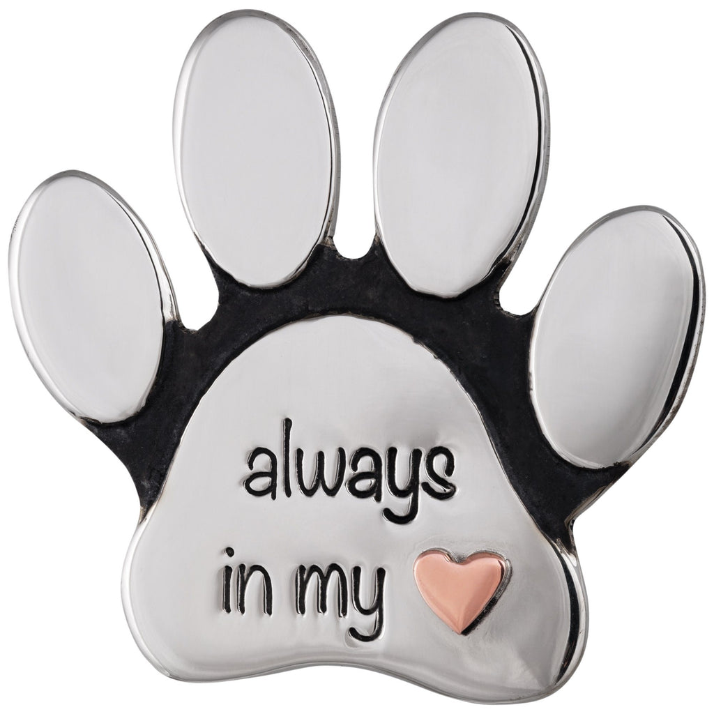Remembrance Mixed Metals Paw Pin