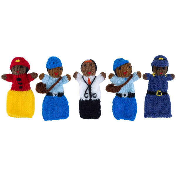 Occupational Finger Puppets - Set Of 5