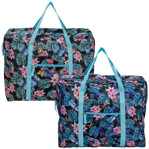 Tropical Beauty Packable Duffel Bag