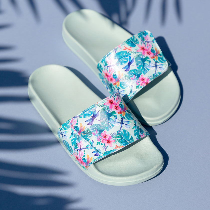 Fluttering Friends Slide Sandals