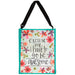 Floral Inspirational Tote Bag