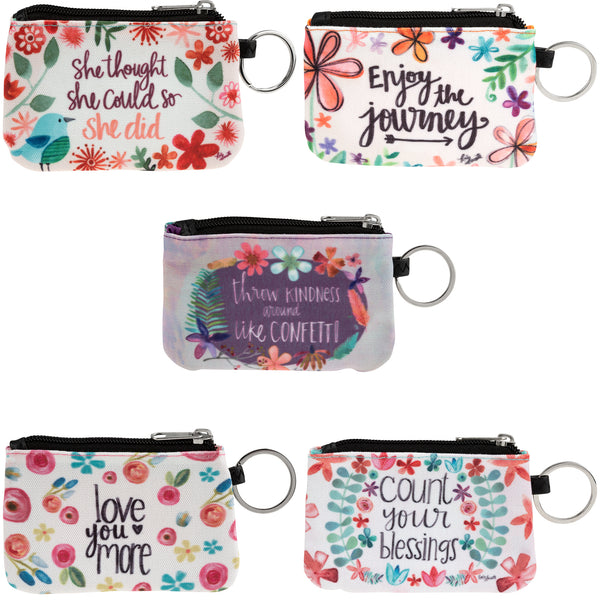 Floral Delight ID Wallet