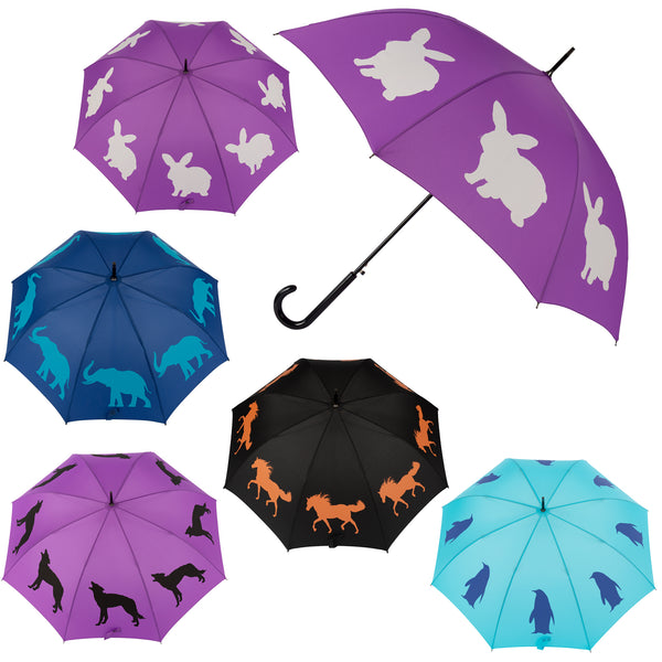 Wildlife Wonder Silhouette Umbrella