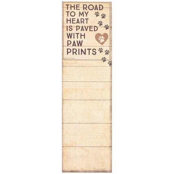 Road to My Heart List Notepad