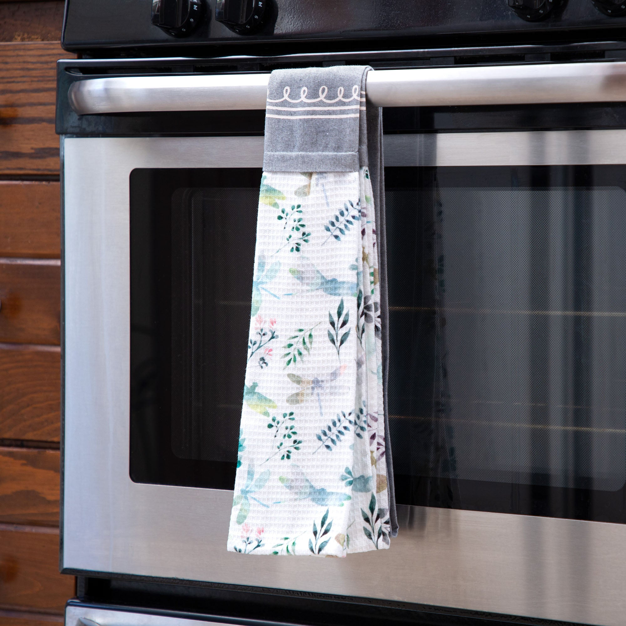 Dragonfly Meadow Kitchen Towel Scarf The Animal Rescue Site