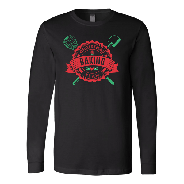 T-shirt - Christmas Baking Team Long Sleeve Shirt