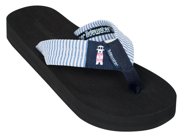 Tidewater Sandals & Flip Flops - Lighthouse Stripes Flip Flops