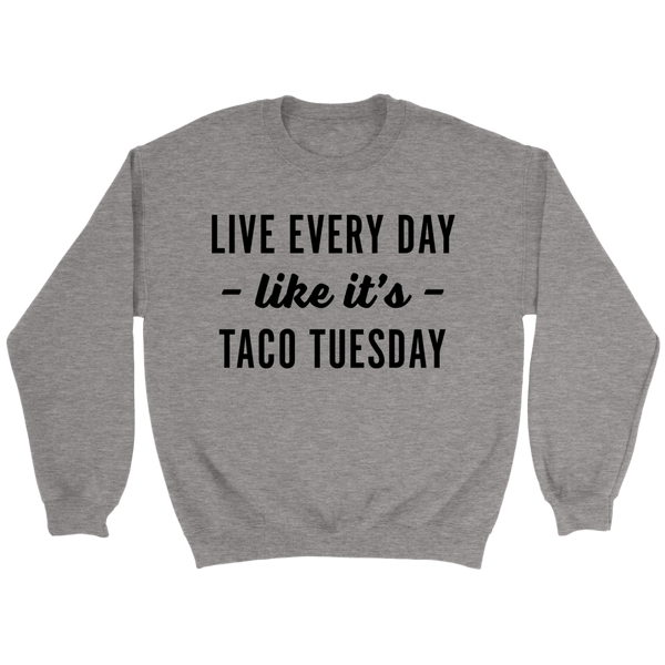 T-shirt - Taco Tuesday Crewneck Sweatshirt