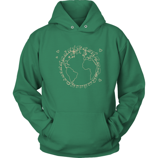 T-shirt - Love The Earth Hoodie