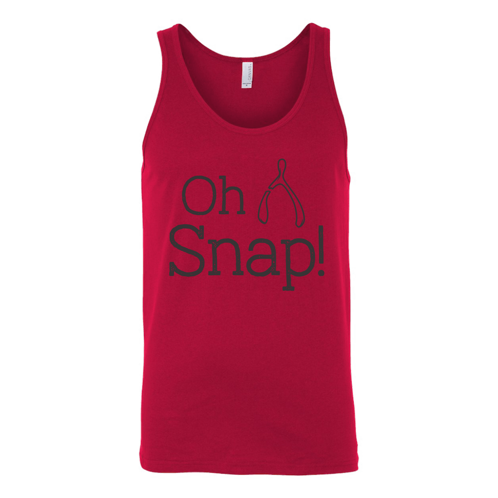 T-shirt - Oh Snap Unisex Tank Top