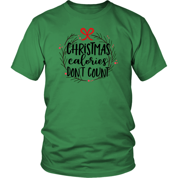 T-shirt - Christmas Calories Don't Count Unisex T-Shirt