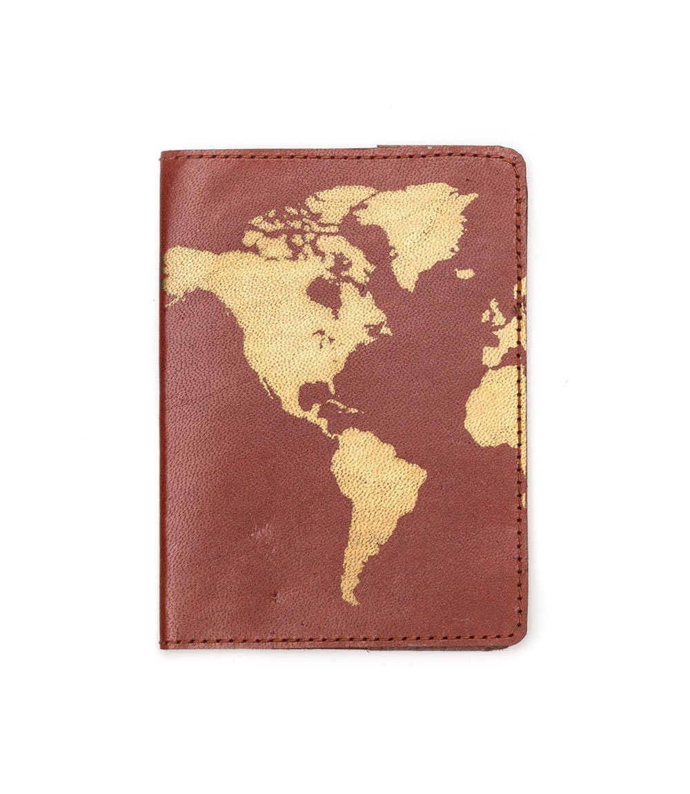 Matr Boomie - Ethical Leather Passport Cover