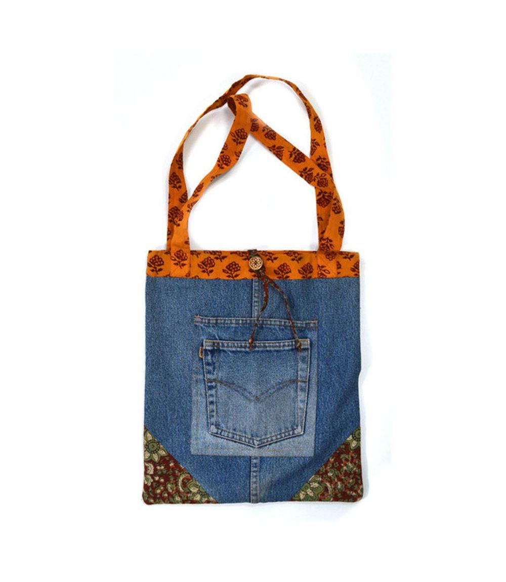 Matr Boomie - Upcycled Denim Tote