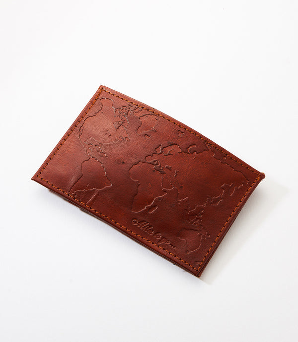 Miles To Go Compact Leather Wallet