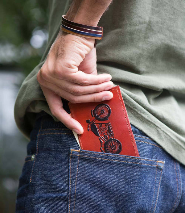 Matr Boomie - Men's Open Road Leather Wallet