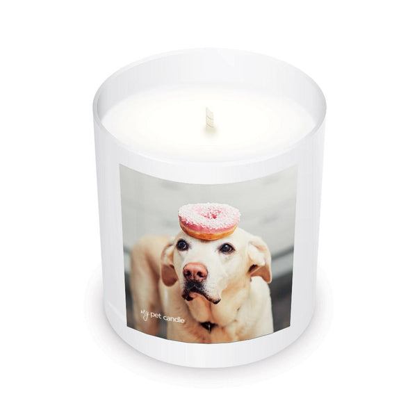 MyPetCandle - Talented Donut Dog – 11oz Soy Wax Candle