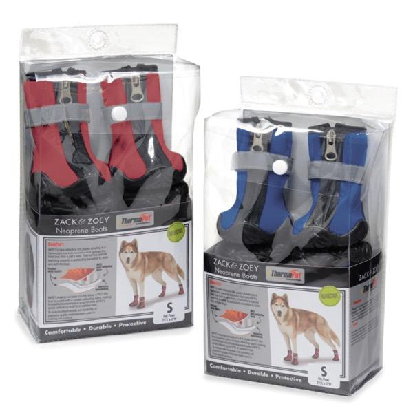 PetEdge - Red Neoprene Dog Boots
